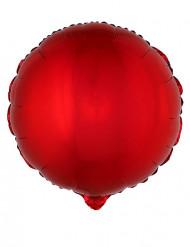 Rød aluminiumsballon