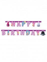 Happy Birthday guirlande Trolls™ 1,9 cm