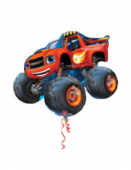 Aluminium gigantisk ballon Blaze og Monster Machines™ 86cm