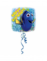 Aluminium ballon Happy Birthday Hallo My Name is Doris™ 43 cm