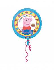 Gurli Gris™ aluminiumsballon - Happy Birthday