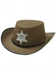 Hat sheriff brun til børn