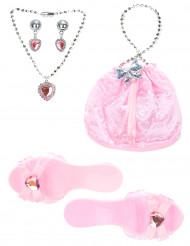 Kit accessories lyserød prinsesse til piger