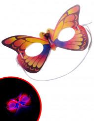 Maske sommerfugl selvlysende til voksne