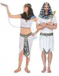 Par kostumer blå egyptere til voksne