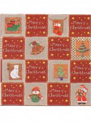 12 Papirservietter Premium Merry Christmas