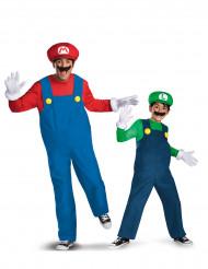 Parkostume Mario™ og Luigi™ - far og søn