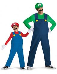 Parkostume Luigi™ og Mario™ - far og søn