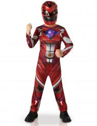 Kostume Power Rangers™ rød til børn - Film