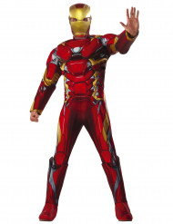 Kostume luksus Iron Man™ Civil War adulte - Avengers™