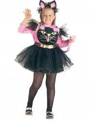51cfee7f6b9 Kostume lille kat legesyg lyserød og sort til piger
