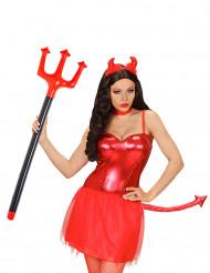 Fork djævel oppustelig 105 cm til Halloween