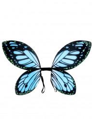 Vinger sommerfugl sorte og blå til piger