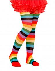 Strømpebukser multifarvede til børn