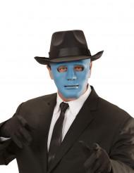Maske anonym blå og turkis til voksne