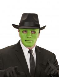 Anonym grøn man maske