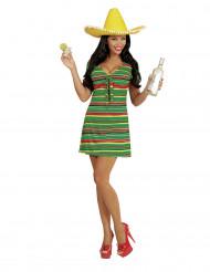 Mexicansk inspireret kjole dame