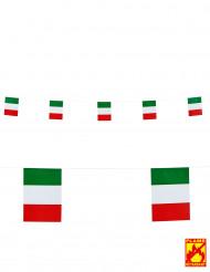 Guirlande med Italiens flag