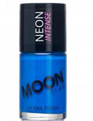 Neglelak blå selvlysende 15 ml Moonglow©