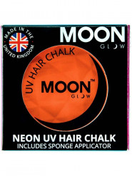 Creme hår striber neon orange UV 3,5 g Moonglow