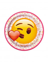 Tallerkener 8 stk. Emoji™ 17.5 cm