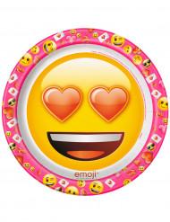 Tallerkener 8 stk. Emoji™