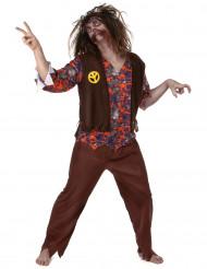 Kostume zombie-hippie herre