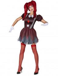 Kostume skrækindjagende dukke dame
