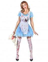Kostume blodig Alice dame