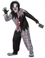 Kostume psykopatisk klovn herre