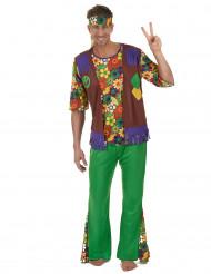 Kostume Hippie flower power til mænd