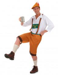 Kostume Oktoberfest brunt til mænd