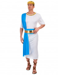 Kostume græsk kejser blå til mænd