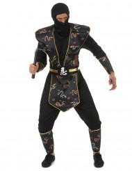 Kostume Ninja Gulddrage herre