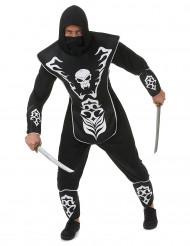 Kostume ninja skelet herre