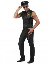 Kostume sexet politimand herre