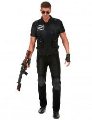 Kostume SWAT agent til mænd