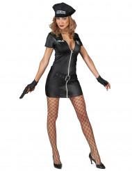 Kostume fræk politidame dame