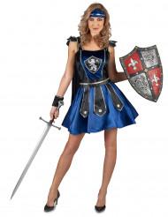 Kostume ridder med løve dame