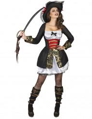 Kostume sexet sørøver dame