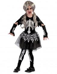 Kostume levende skelet til piger