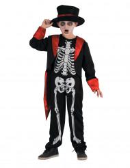 Kostume skelet smart til drenge