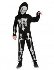 Kostume skelet leddelt til børn