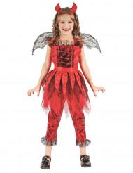 Kostume djævel af ild til piger