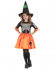 Kostume heks skelet til piger