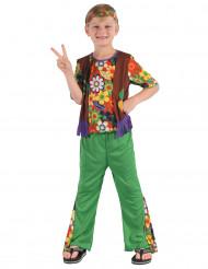 Kostume hippie flower power til drenge