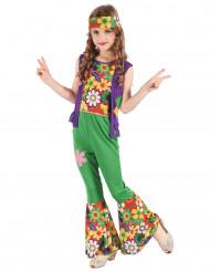 Flower power Hippieudklædning til piger