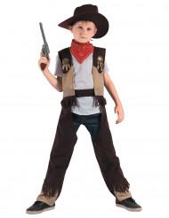 Kostume cowboy rodeo til drenge
