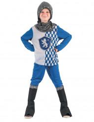 Kostume ridder blå til drenge