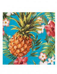 16 Papirservietter Tropics 33 x 33 cm